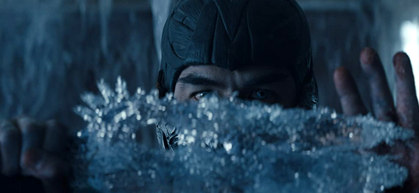Sub-Zero (Joe Taslim) can create deadly weapons of ice at will in MORTAL KOMBAT.