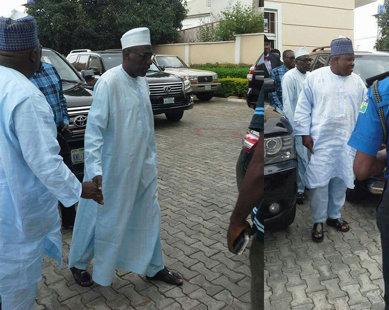PDP crisis: Markafi pays surprise visit to Sheriff