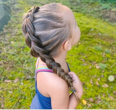 Braiding Styles for Little Girls with Beads
