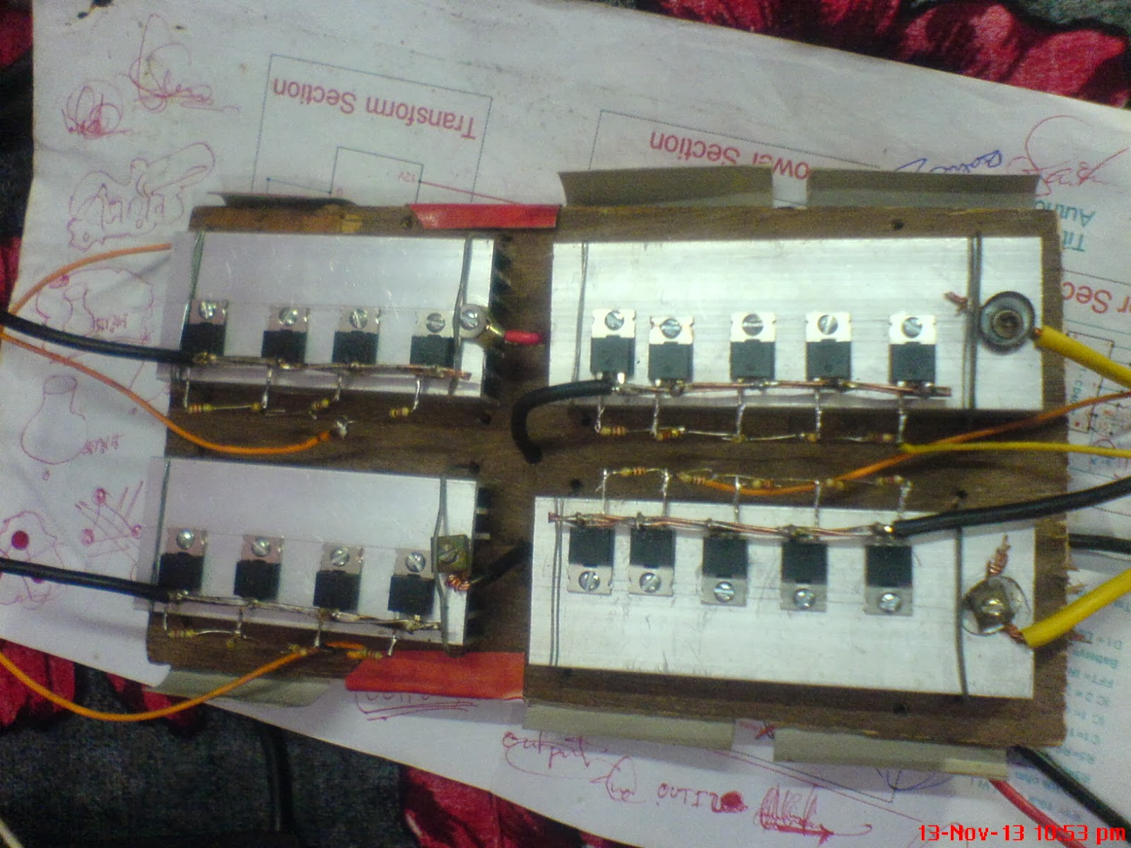 Smart Electronics Bangladesh November 2013 Diagrams Inverter Circuit Diagram Dc 12v To Ac 220v 200w Sine Wave Necessary Circuits I Am Still On The Research Of It Hope Yall Fine Here Are Some My Project Pictures 1200w With Charging System