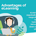 5 advantages of eLearning #infographic