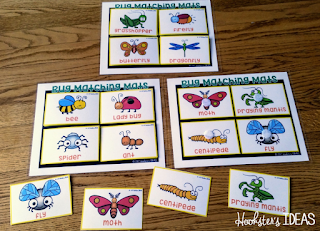 Hookster's Ideas: Tinkering Toddlers Bug Matching Mats