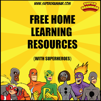 https://www.teacherspayteachers.com/Product/Super-Grammar-Distance-Learning-Pack-FREE-5341144