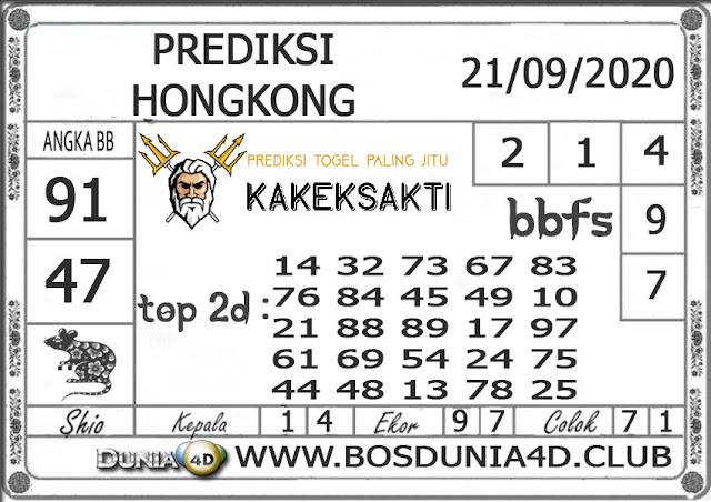 Prediksi Togel HONGKONG DUNIA4D 21 SEPTEMBER 2020