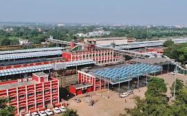 Kharagpur Railway Station Drone View