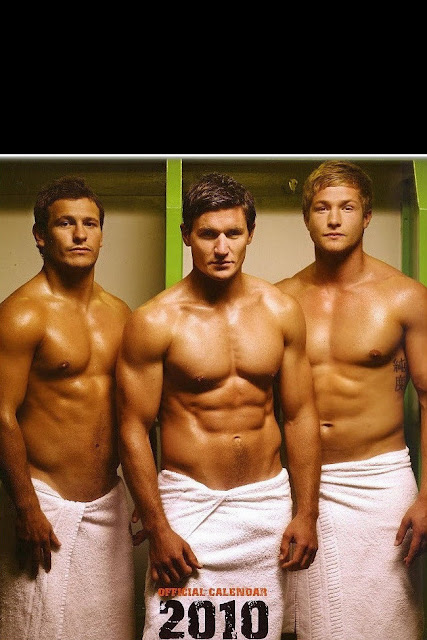 'Rugby's Finest' - 2010 • From left to right: Danny Care, Nils Mordt and Will Matthews • Rugby Union Players
