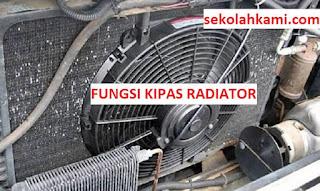 fungsi kipas radiator