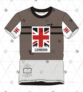 Free T-Shirt Design | Graphic London Tees - Vecta Design