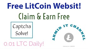 free lite coin earning site.Earn Bitcoin Fast without Investment.Best LTC earning site.Earn fee ltc