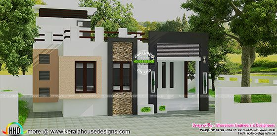 Small plot home 90 square yards