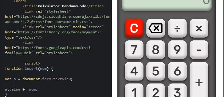 Membuat Kalkukator 3D Sederhana Dengan HTML5 Dan JavaScript