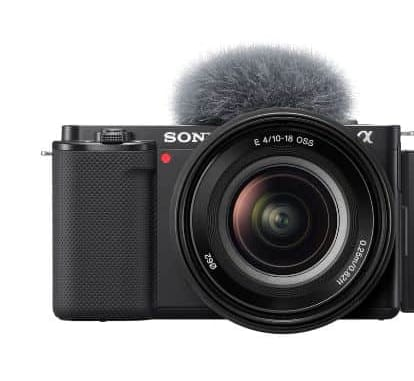 Sony launches ZV-E10 camera for vloggers