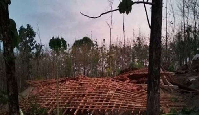 8 Rumah Hancur di Boyolali Diterjang Angin Kencang