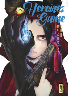 Couverture du manga Heroines Game tome 2 aux éditions Kana