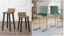 bar stools wooden