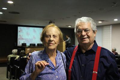 Lina e RW na Biblioteca de Brasília, 06.12. 2017