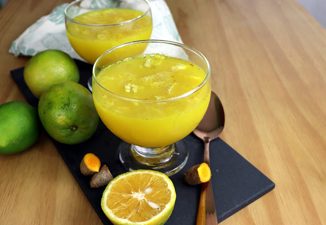 Esta sobremesa é a mais fácil e saudável! Gelatina de laranja com açafrão (vegana e sem açúcar)
