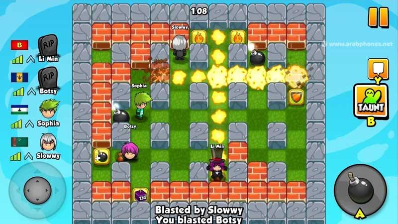 تحميل لعبة bomber friends مهكرة اخر اصدار