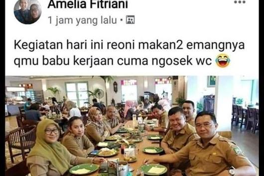 Viral Unggahan PNS Tangerang soal Menghina Babu, Ini Kata Wali Kota