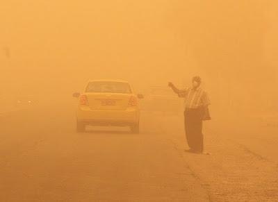 الأنواء: عواصف ترابية وتصاعد للغبار ببعض المناطق حتى الثلاثاء المقبل