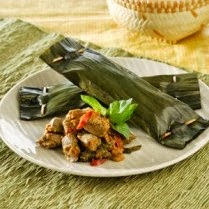 Diet Rendah Garam #21 Pepes Ikan Bumbu Kuning