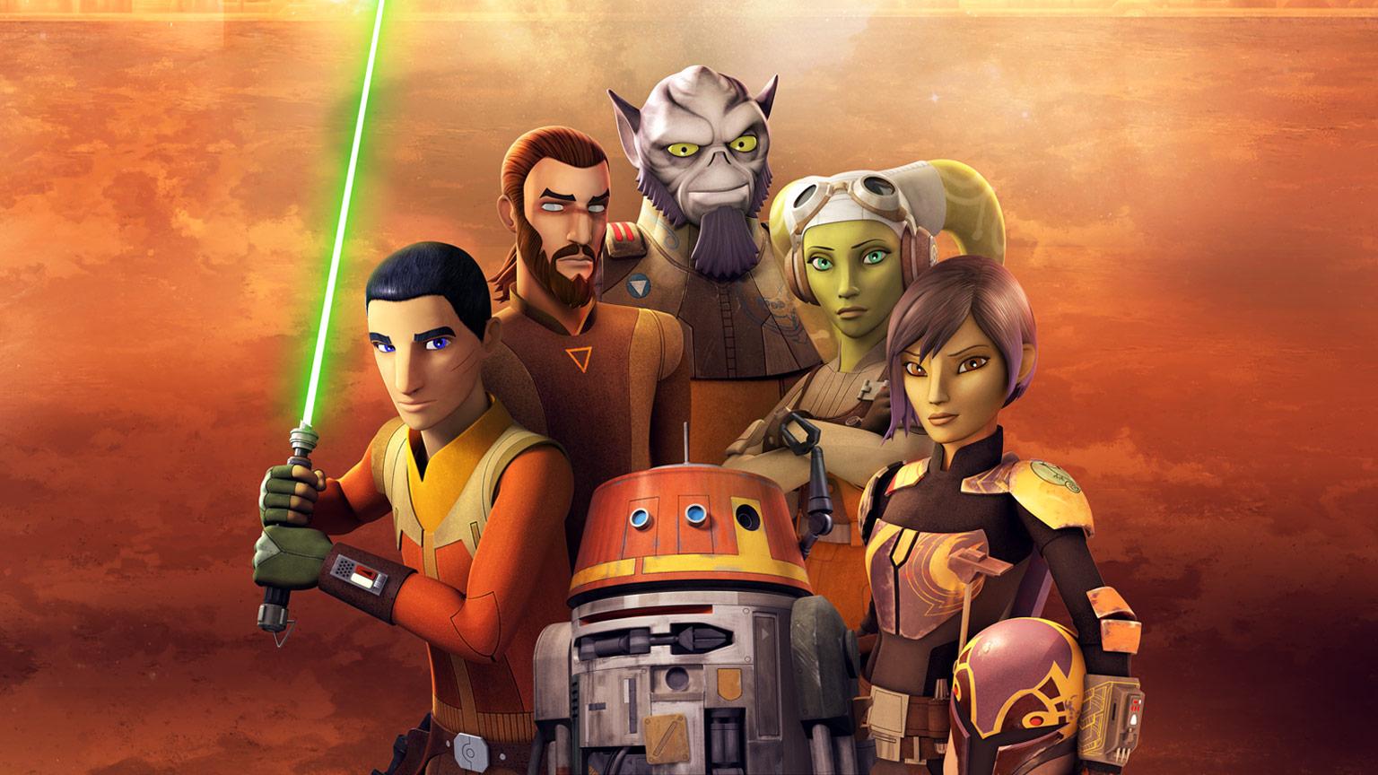 Star Wars: Rebels' ganhará um art book - Quarto Nerd