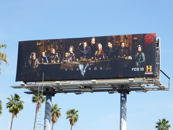 Vikings season 4 History billboard