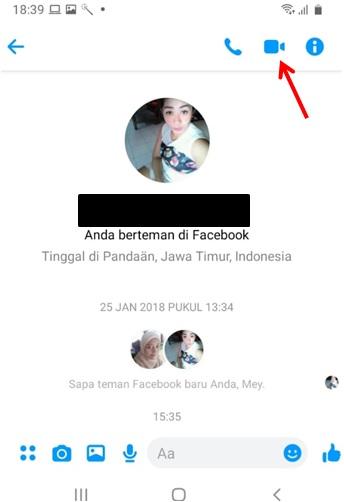 Cara Share Screen di Facebook Messenger-1