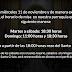 Cambio de horario de las eucaristías con motivo de las nuevas medidas frente a la COVID-19