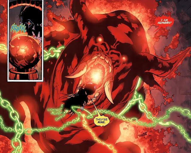 siapa red lantern dc adalah
