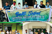 Refleksi Awal Tahun, PKC PMII Bali-Nusra Gelar Baksos Tekan Penyebaran Covid-19