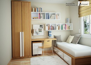 simple bedroom design without bed