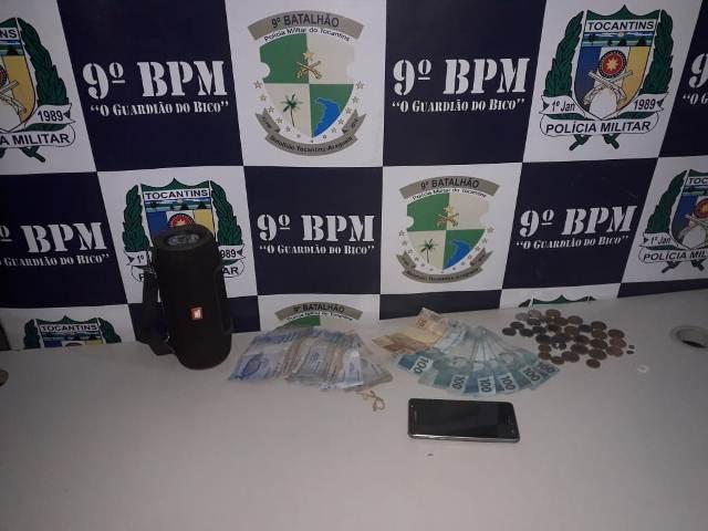 Polícia Militar detém três pessoas por furto e receptação em Araguatins e São Miguel