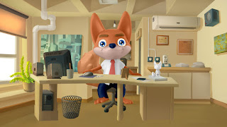Fenix in an Office Scene by Anton Bakhmat.
