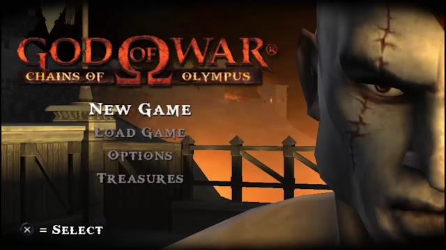 Keren! Game PPSSPP God of War Chain Olympus Grafik 3D