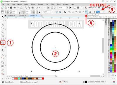 Membuat Cap Stempel Dengan CorelDraw Lengkap Gambar 6+
