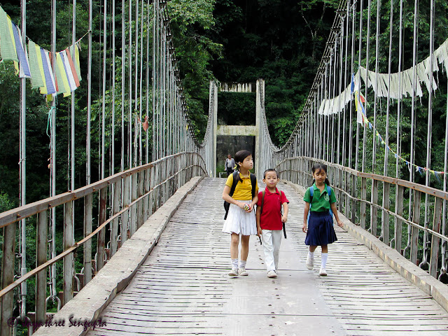 Tashiding Bridge  @DoiBedouin
