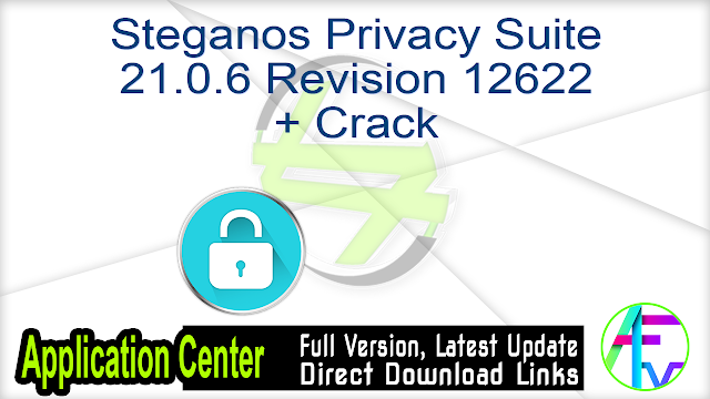 Steganos Privacy Suite 21.0.6 Revision 12622 + Crack