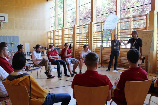 REWE Österreich Persönlichkeitsseminar für Lehrlinge - Teambuilding Conout Outdoor Ramsau Steiermark