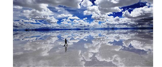 Keindahan Alam Salar De Uyuni, Bolivia, Pemandangan Indah Di Dunia