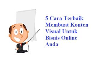 5 Cara Terbaik Membuat Konten Visual Untuk Bisnis Online Anda