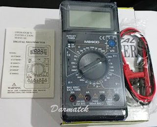 Jual Multimeter M-890D Digital Multitester
