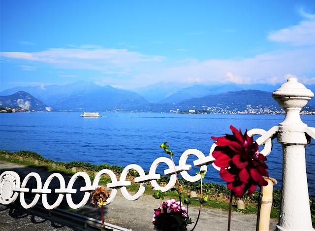 Lago Maggiore in Piemonte, vista dal Parco Pallavicino