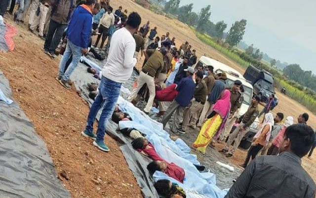 Bus accident - 51 killed in direct bus accident in Madhya Pradesh