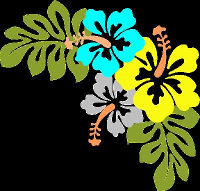 Vector art flower