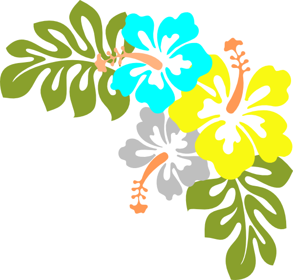 Vector art flower