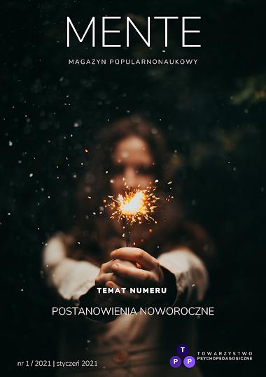 Czasopismo MENTE nr 1/2021: Postanowienia noworoczne