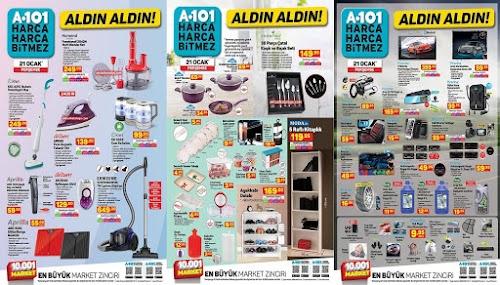 A101 Market (21 Ocak 2021) Aktüel Ürünler Kataloğu