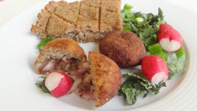 Vegetarian Potato Kibbe (Kibbet Batata) Recipe