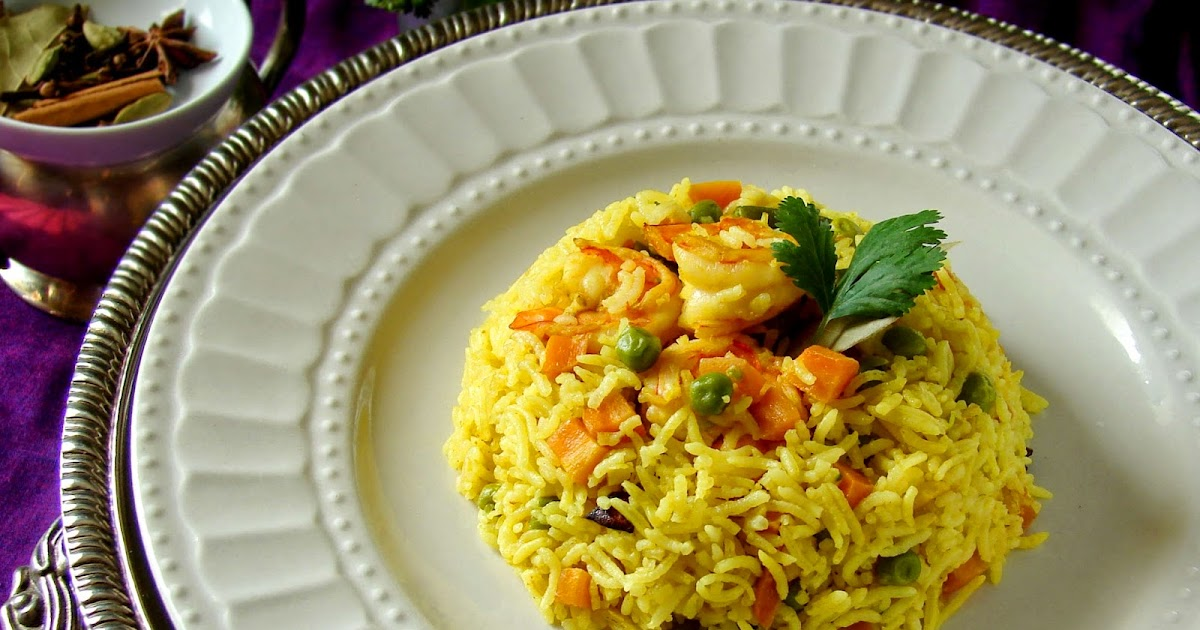 Kitchen Corner Try It Shrimp And Vegetable Pulao